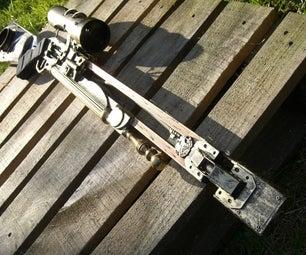 Steampunk Dystopian Sniper Rifle (Mercury Bow)