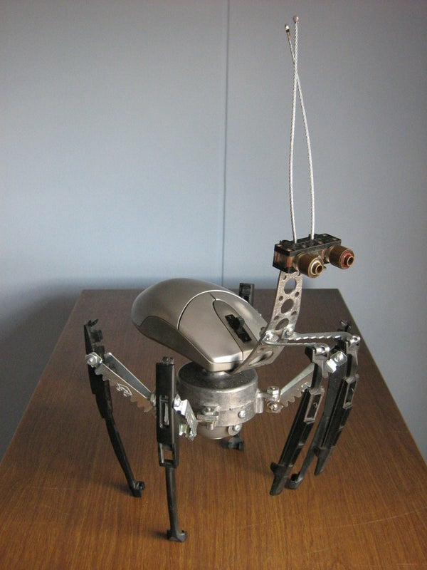 Build Vibroinsects Using Discarded Mice