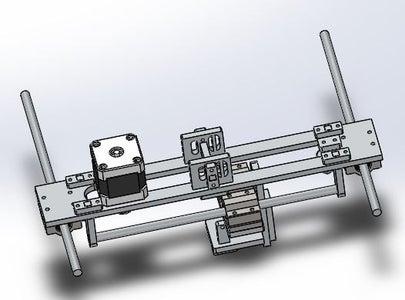Sistema Mecánico - Movimiento En Eje X & Y