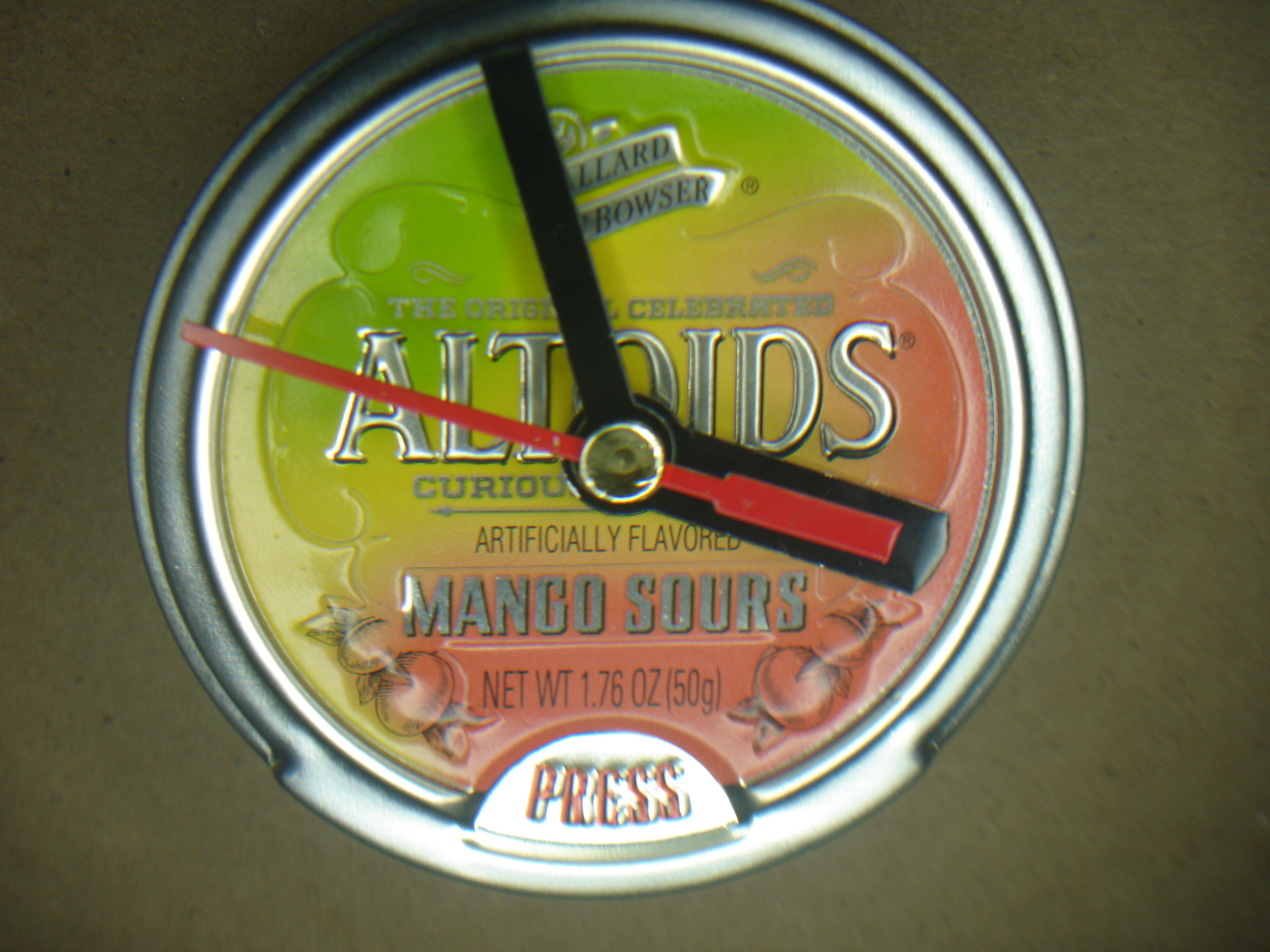 altoids clock