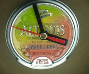 Altoids Clock