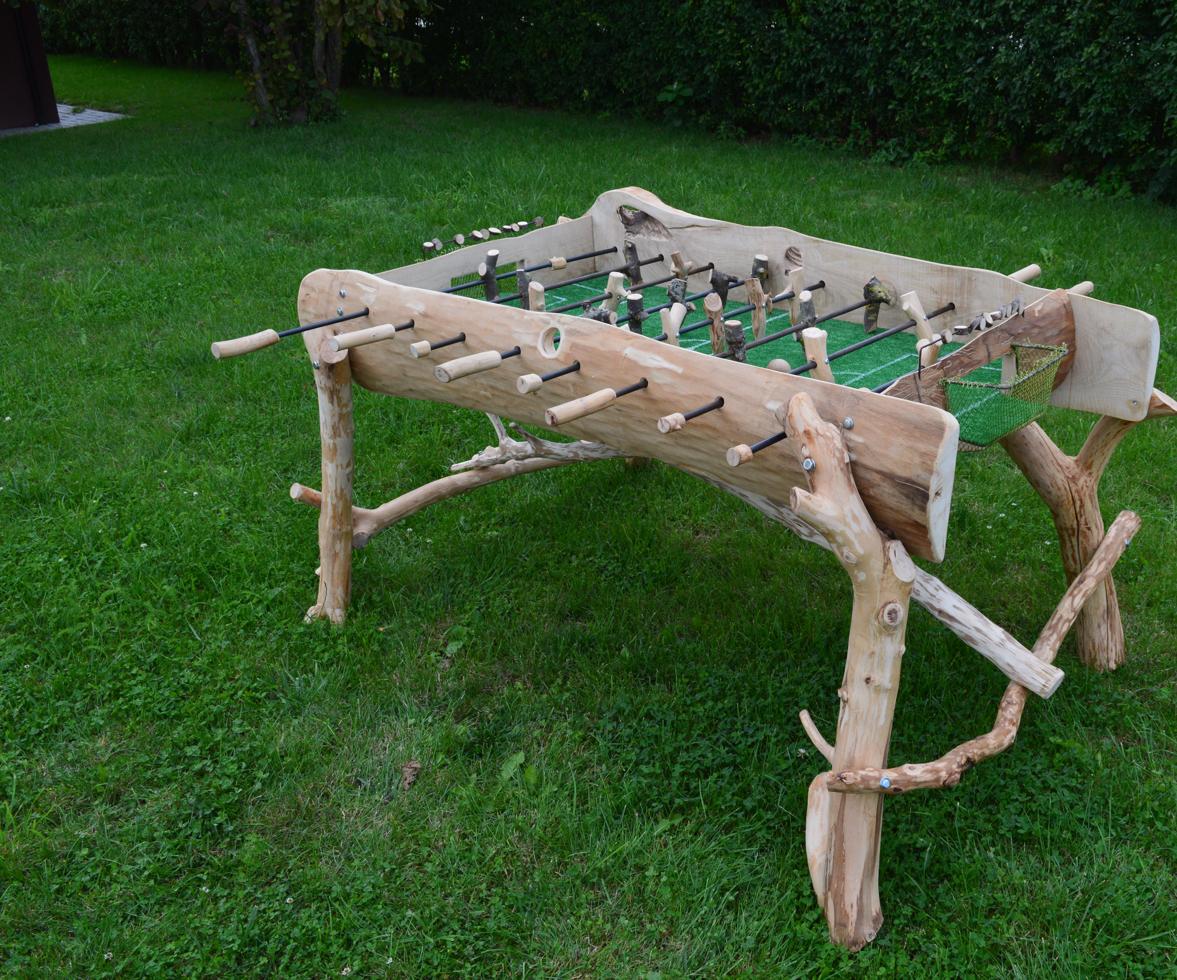 Country style foosball table