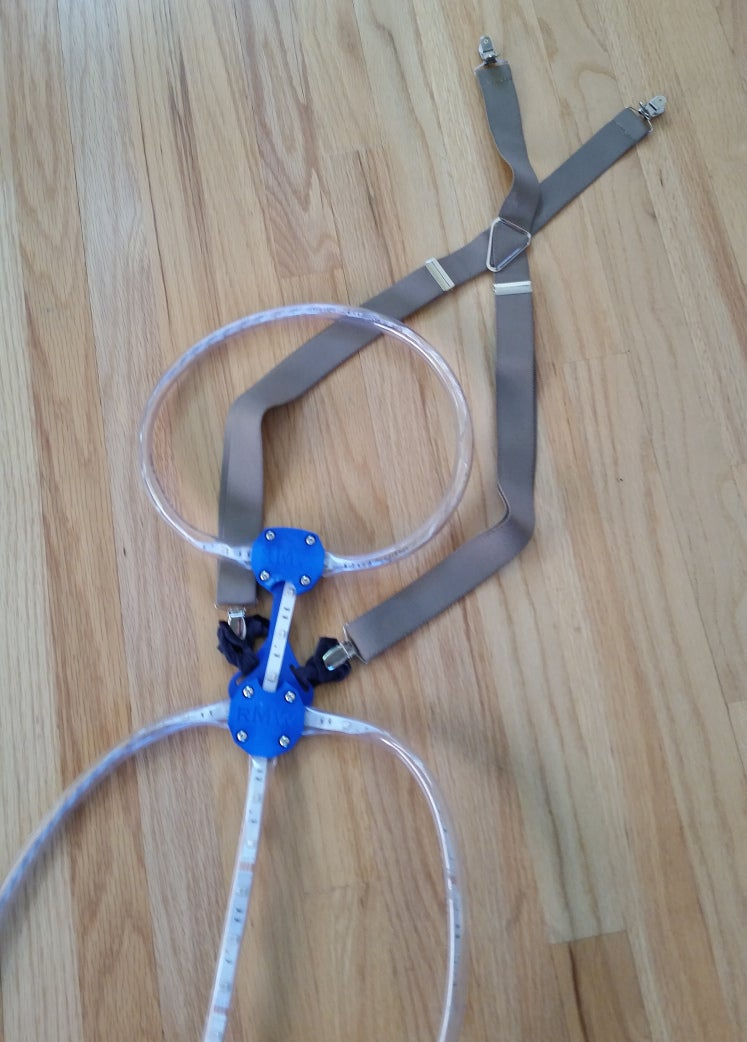 Add Straps to Support Lights on Wearer