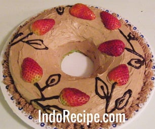 Screwpine Cake With Chocolate Buttercream (Pandan Cake)