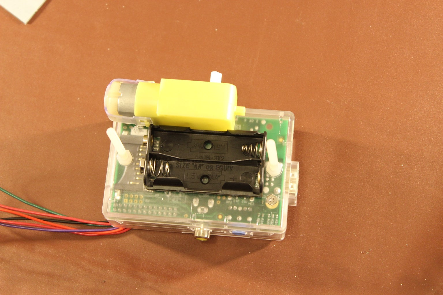Attach Your Battery Holder and  to the Case.