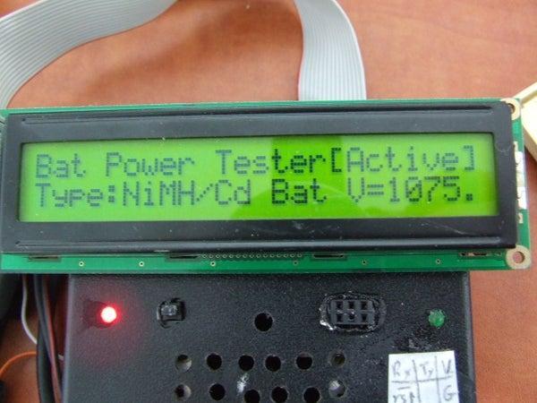 Arduino True Battery Capacity Tester (Li-Ion/NiMH/NiCD/Pb)