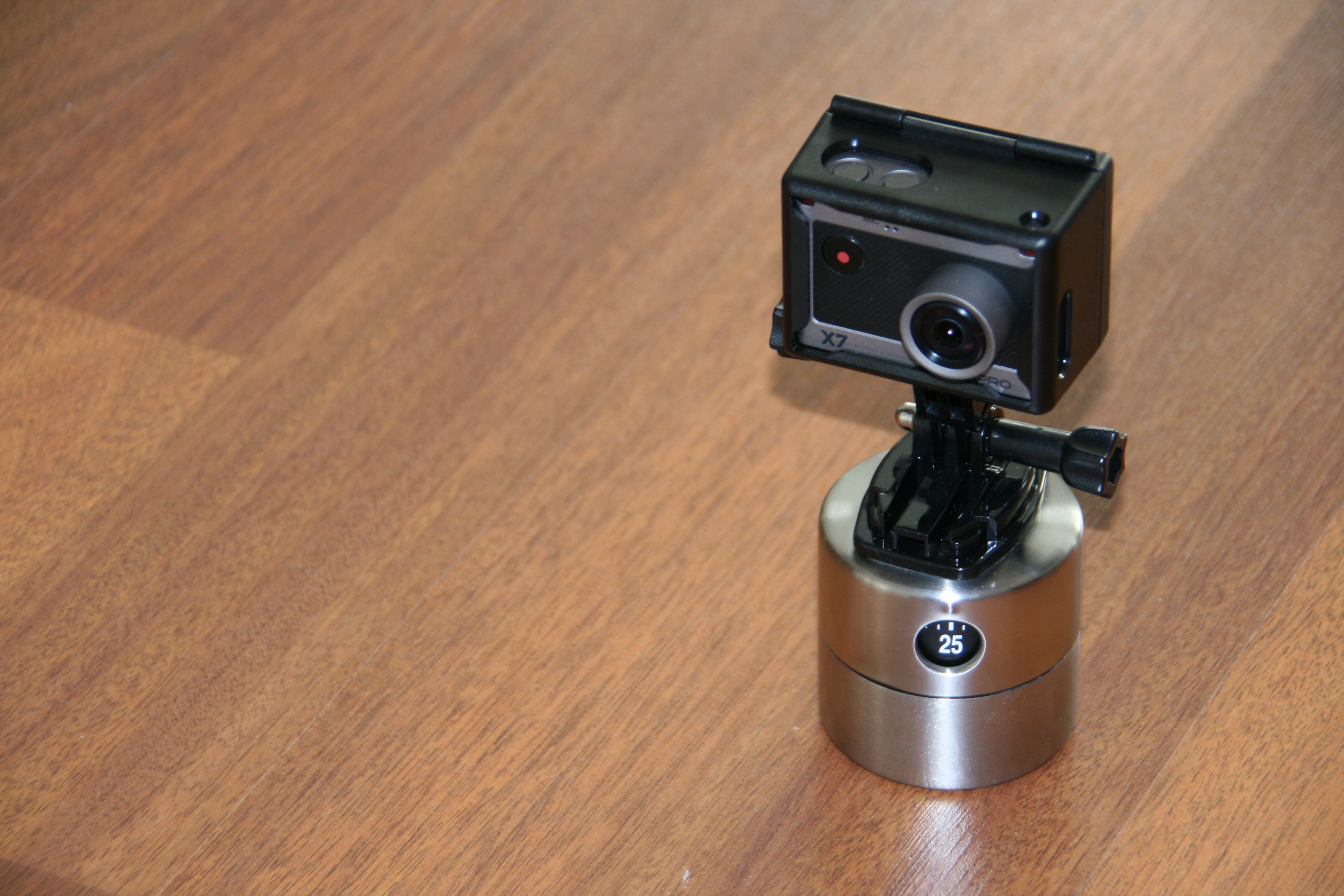 DIY Time-lapse - Rotation for GoPro, Actionpro X7 or any other action camera