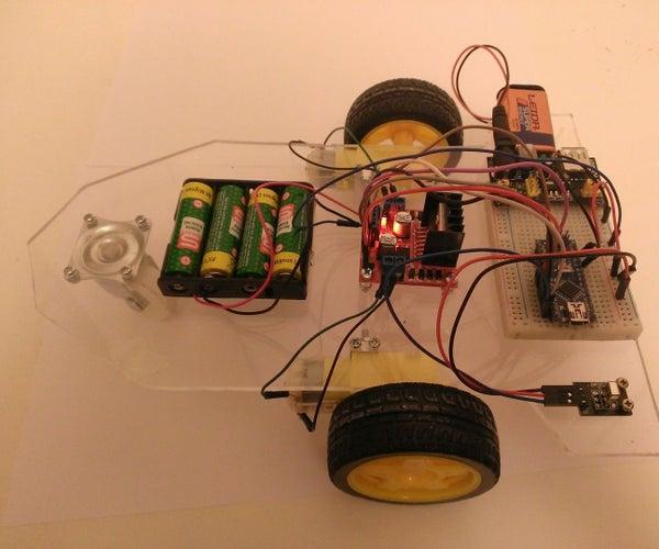 Arduino Infrared RC Car