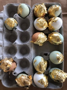 Allow the Gilded Eggs to Dry
