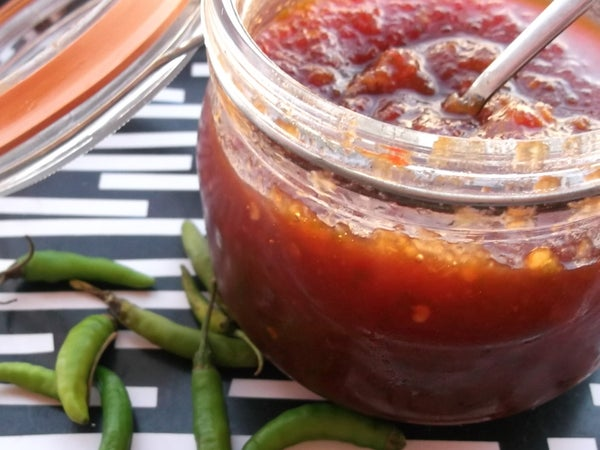 How to Make My Ultimate Hot and Sweet Chilli Garlic Ginger Jam