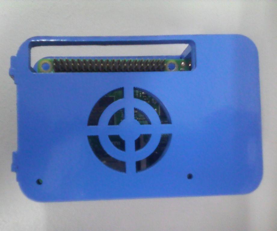 Rasberry Pi Laser cut Cardbboard case