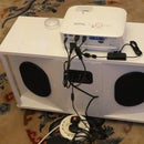 Stealthy Stereo Boom-box for Digital Projectors and House-parties