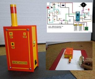 DIY Arduino Pin Pointer Metal Detector