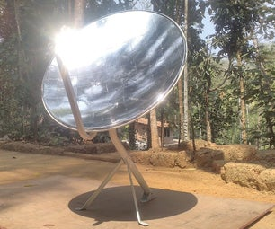 How to Make Parabolic SOLAR Collector