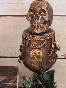 Close Ups of the Complete Halloween Goblet