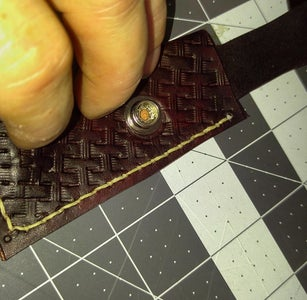Trim Excess Leather