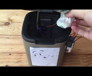 Whistle Controlled Dustbin