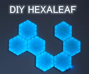 Easy DIY Hexaleaf/Nanoleaf LED-Panel