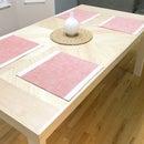 Folding Chevron Farm Table