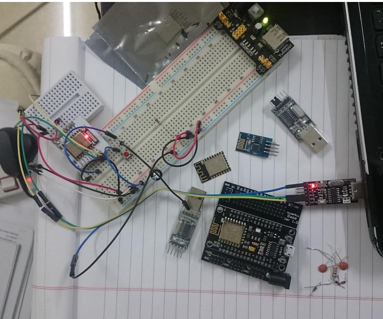 USB to Serial converter for ESP8266