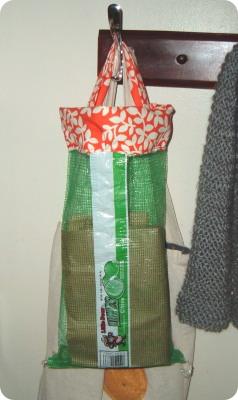 Recycled Lime/Lemon Bag
