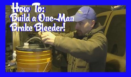 One Man Brake Bleeder!