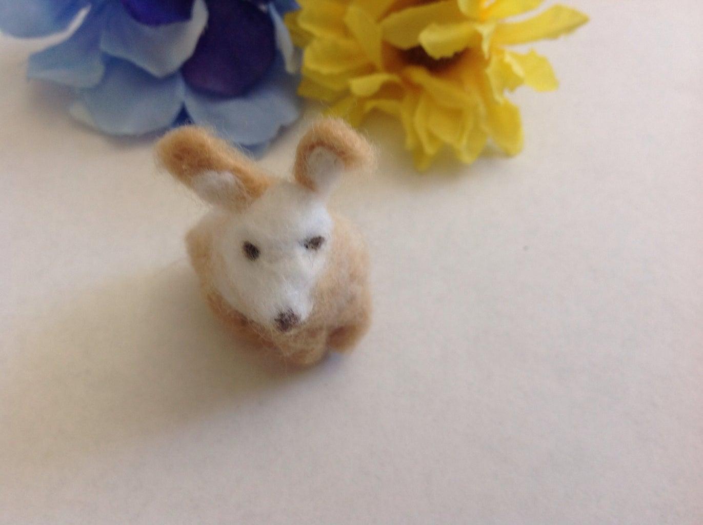 Needle Felted Bunny Rabbit