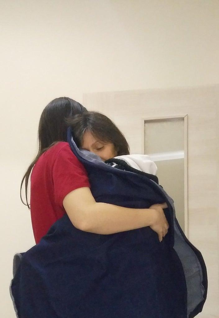 Hugging Cloak (for Covid-19)