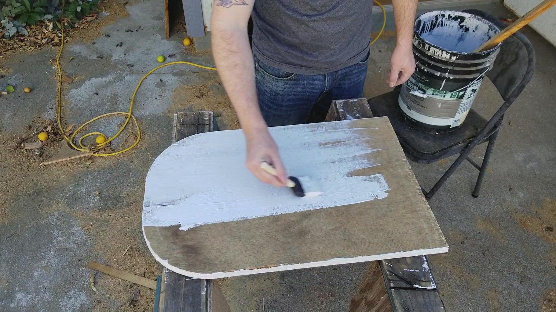 Base Coat of Paint