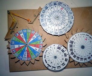 Mayan Calendar Wheels