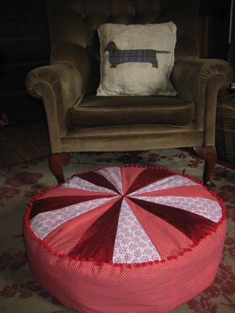 Funky Floor Cushion