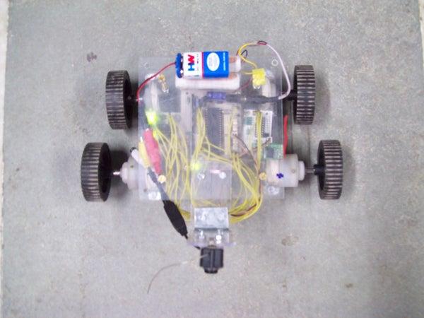 Spy Camera Robot