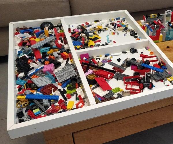 Simple Lego Tray / Legos Organizer / Storage From Scrap Wood DIY