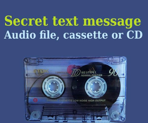 Secret Message in Audio