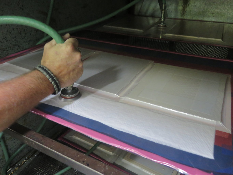 Mold Core Prep - Vacuum Bag 13