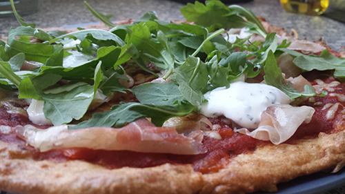 Gluten Free Pizza With A Cauliflower Crust