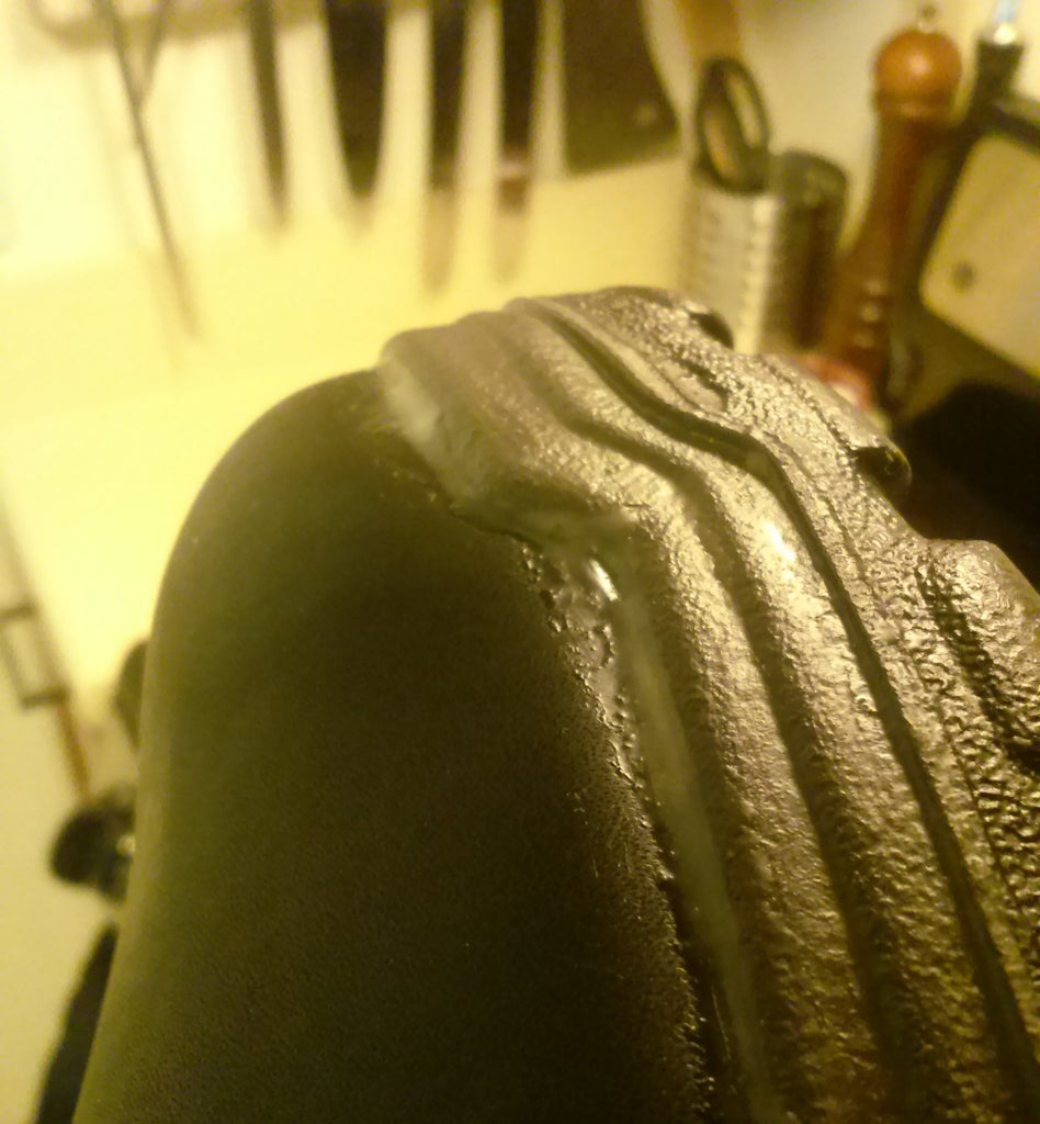 Leave Excess Wax Around the Seams