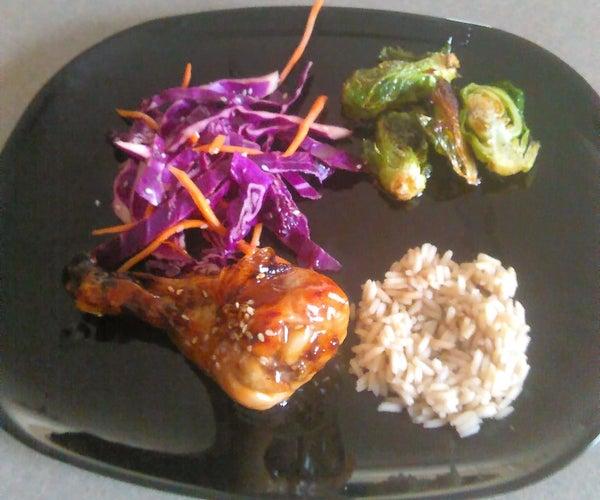 Asian Chicken & Sides