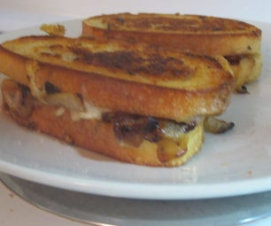 Mind Blowing Grilled Cheese With Sauteed Onions