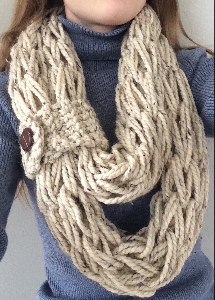 How to Arm Knit: Step-by-Step Instructions