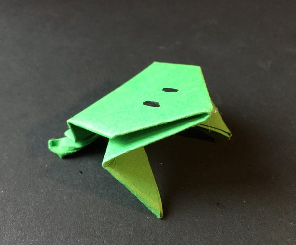 Origami Frog & Mini Games