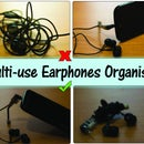 Multi-use Earphones Organiser