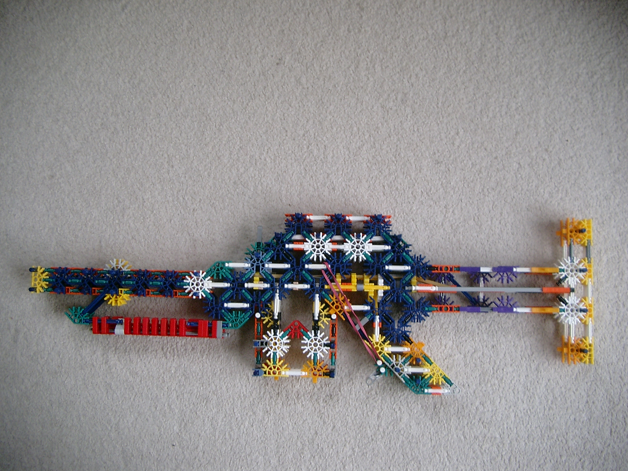 The storm 220 V1.7 knex bolt action rifle.