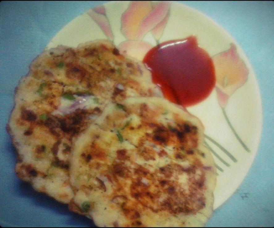 Indian Vegetable Uthappam