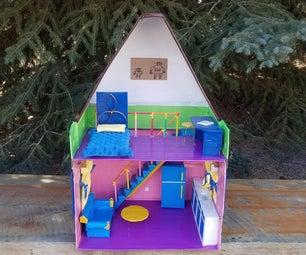 纸板娃娃房子