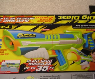 Buzz Bee Big Blast Modification