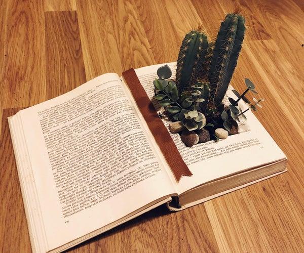 Turn an Old Book Into Magical Garden!