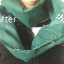 Upcycled Bag Scarf