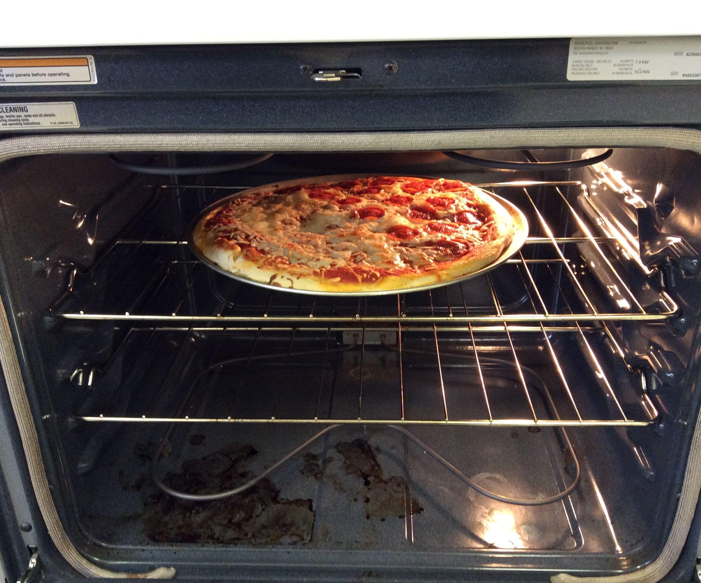 Tasty Half N Half Pizza