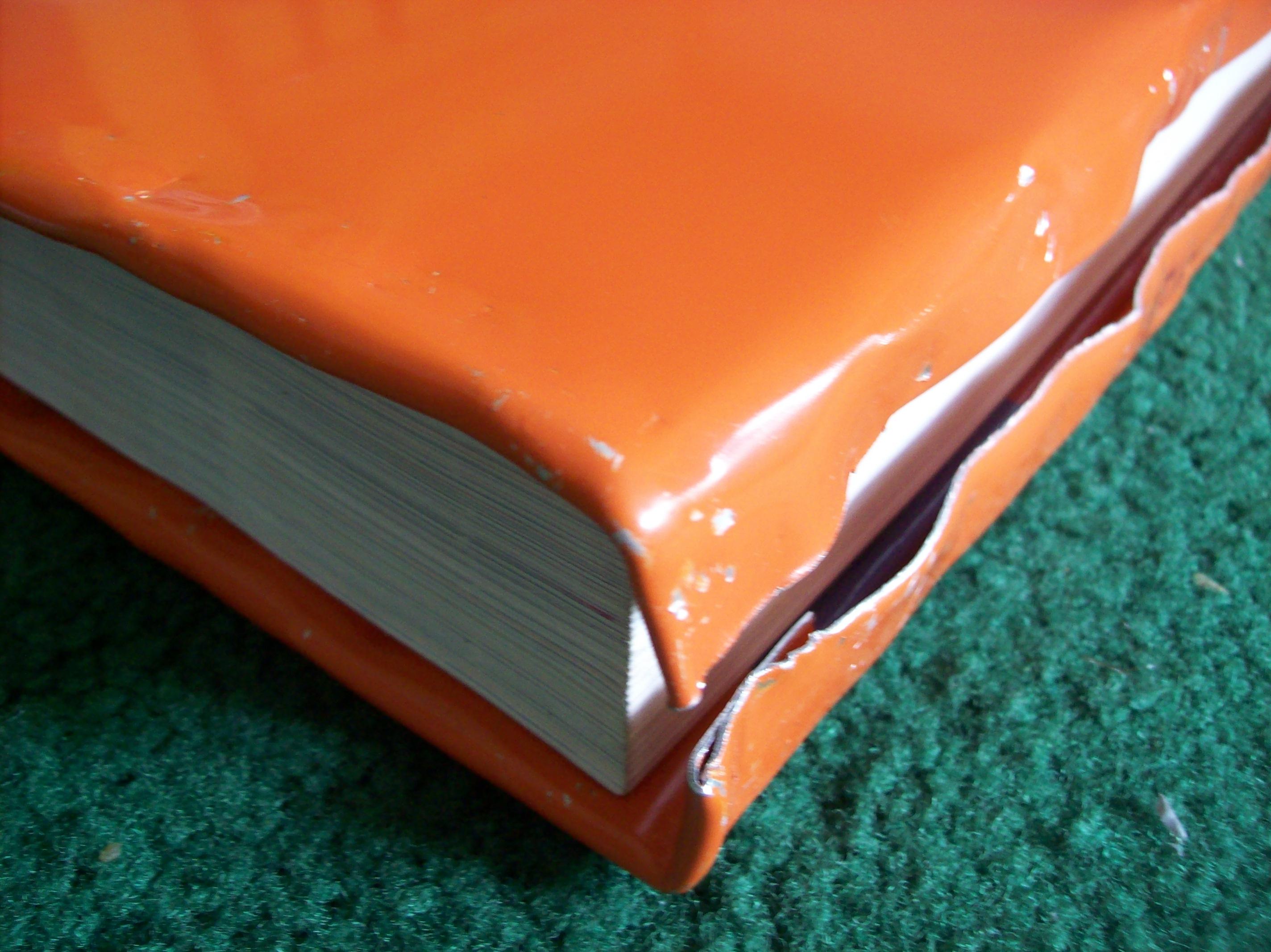 Aluminum Sheet Metal Book Cover